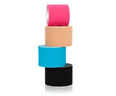 Tape around your fingers to avoid polish from getting on your skin