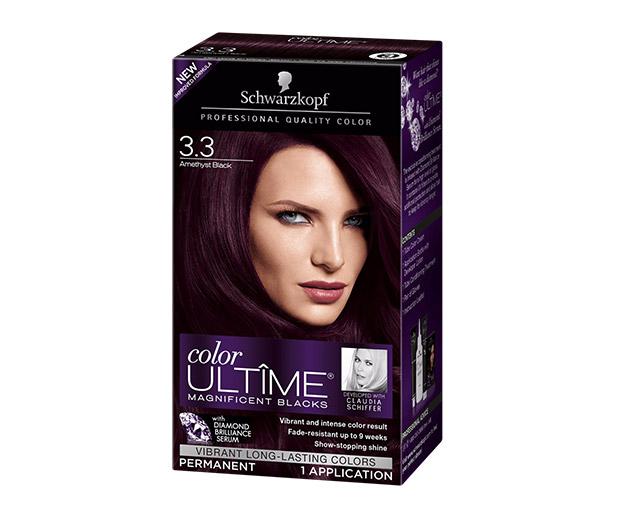 Schwarzkopf 3 Amethyst Black Hair Color