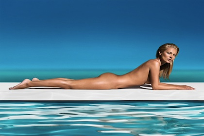 Kate Moss Named Face (and Body) of St. Tropez