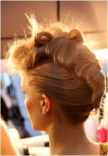 Fashion Week How-To: Organic Updos at the Katie Gallagher Show