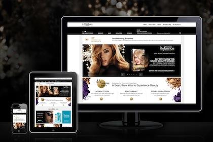 LOrealParisUSA.com Gets a Major Makeover