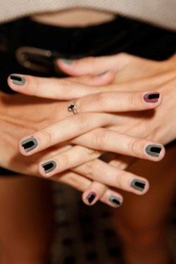 Edgy Runway Nails at VEDA