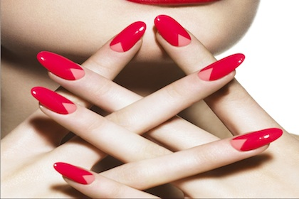 The Rise of the V-Shaped Manicure