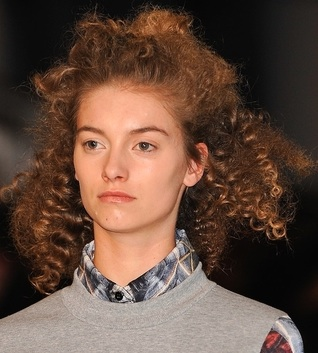 Fashion Week How-To: Amika Showcases Autumn Hair Looks At Cynthia Rowley Fall/Winter 2012 Show