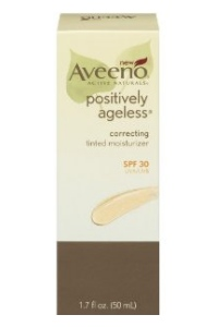 Aveeno Launches New Positively Ageless Correcting Tinted Moisturizer