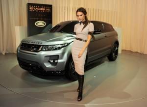 Victoria Beckham Designs a New Range Rover