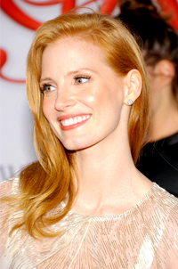 Jessica Chastain is the New Face of YSL Fragrance