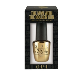 OPI To Release James-Bond Inspired 18K Gold Nail Polish