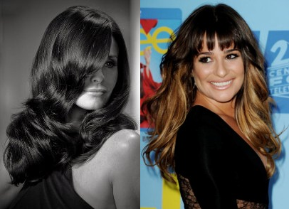 New Faces in Hair: Lea Michele and Courteney Cox
