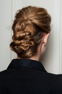 Elegant Twisted Updos at The Row
