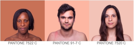 Artist Aims to Color Categorize Every Skin Tone