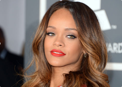 Rihanna's Signs Groundbreaking Partnership with MAC Cosmetics