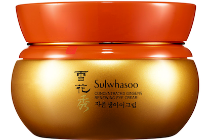 Weekend Road Test: Sulwhasoo Concentrated Ginseng Renewing Eye Cream