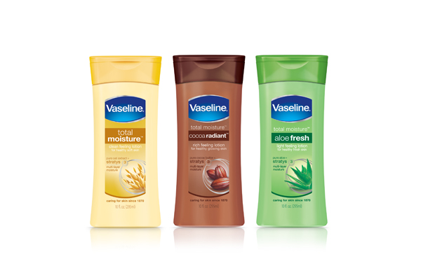 Vaseline® Launches Improved Total Moisture® Lotions