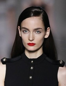 Fashion Week How-To: Sleek Hair at the Victoria Beckham Show