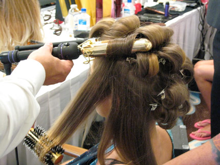 Editors Blog Hair Secrets Of The Victorias Secret Models