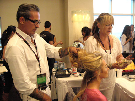 Editors blog hair secrets of the victorias secret models pmusecretfo Images