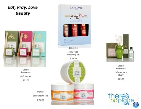 Editor's Blog: Eat, Pray, Love and Buy Beauty Products
