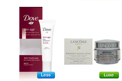 dove anti aging products