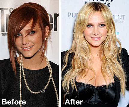 Editors blog which is better ashlee red or blonde ashlee simpson wentz has ditched her red hair color from 2008 and gone back to blonde like these chicks urmus Images