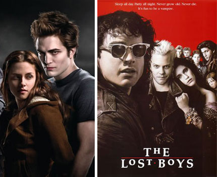 Editor's Blog: Twilight vs  The Lost Boys: Who wins the cool vampire