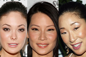 Magnificent Lucy Liu Defined Brows Best Makeup Looks For Asian Faces Page 3 Hairstyles For Women Draintrainus