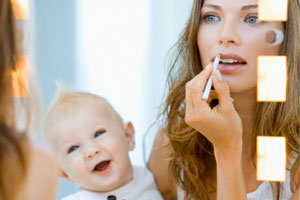 A New Mom's Guide to Looking Pretty