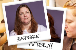 The Frumpy-to-Fab Hair Makeover