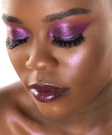 false eyelashes makeup tutorial