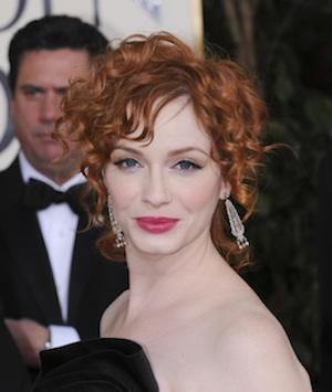 The Celeb Makeup Look I'm Loving this Week: Christina Hendricks' Winged Eye -- Here's How to Get It