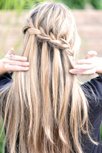 EXPERT HOW-TO: Mastering The Waterfall Braid