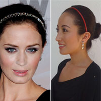 Celebrity Hairstyle Challenge Day 1: Copy Emily Blunt's Updo