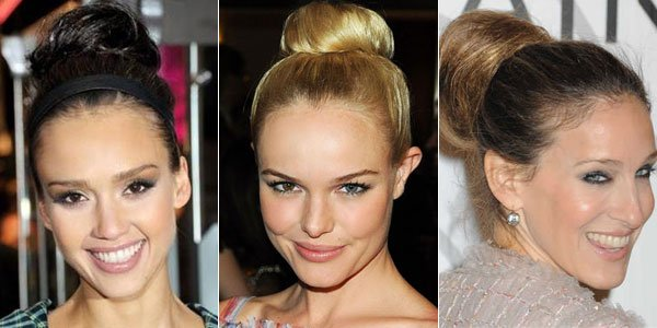 The Trend My Short Hair And I Are Coveting High Buns
