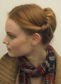 Hairstyle How-To: Recreate the Modern Twist Trend I'm Obsessing Over This Week