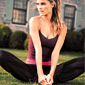 6 Relaxing Yoga Poses to Try at H(ommmm)e