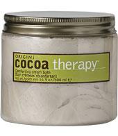 Origins Cocoa Therapy Comforting Cream Bath