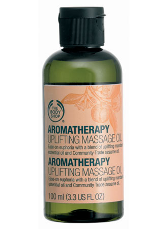 The Body Shop Aromatherapy Uplifting Massage Oil
