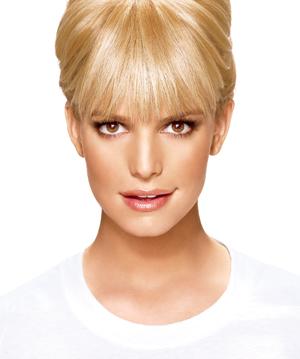 hairdo by Jessica Simpson Tru2Life Fiber Clip in Bangs