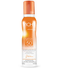 Vichy Laboratories Capital Soleil SPF 50 Lightweight Foaming Lotion