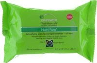 Garnier Nutri-Pure Detoxifying Wet Cleansing Towelettes