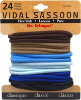 Vidal Sassoon No Crimper Elastics