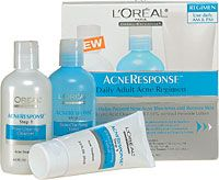 L'Oréal Paris Acne Response Daily Adult Acne Regimen