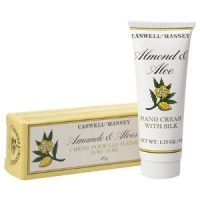 Caswell-Massey Almond & Aloe Hand Cream with Silk