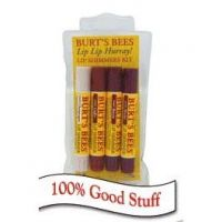 Burt's Bees Lip Lip Hurray! Lip Shimmers Kit
