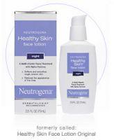 Neutrogena Healthy Skin Face Lotion Night