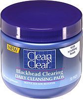 Clean & Clear Blackhead Clearing Daily Cleansing Pads