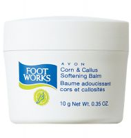 Avon Foot Works Corn & Callus Softening Balm