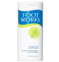 Avon Foot Works Deodorizing Foot Powder