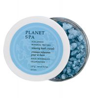 Avon PLANET SPA Icelandic Mineral Waters Relaxing Bath Crystals