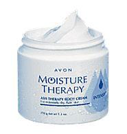 Avon MOISTURE THERAPY Ash Therapy Body Cream